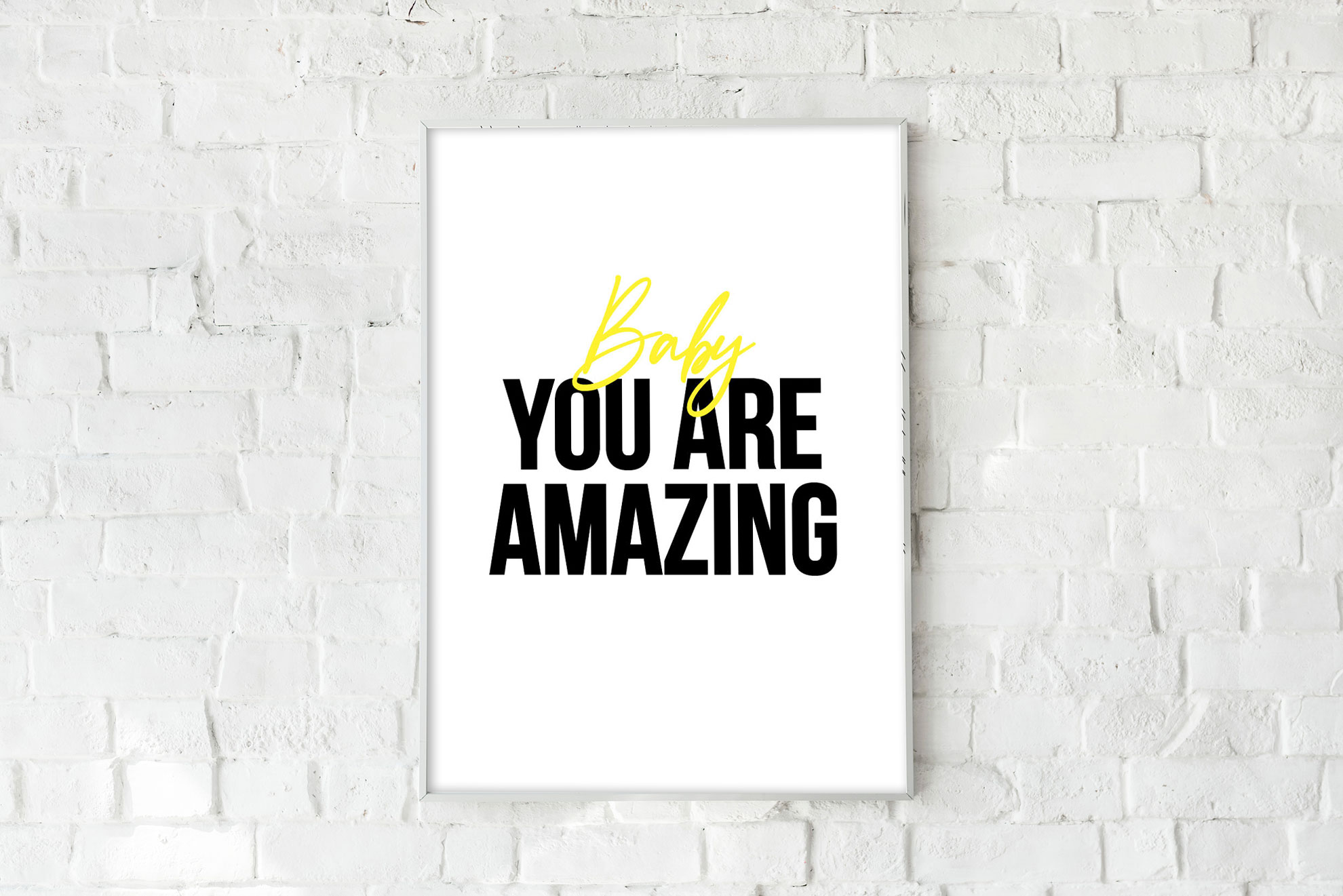 You Are Amazing - Yellow