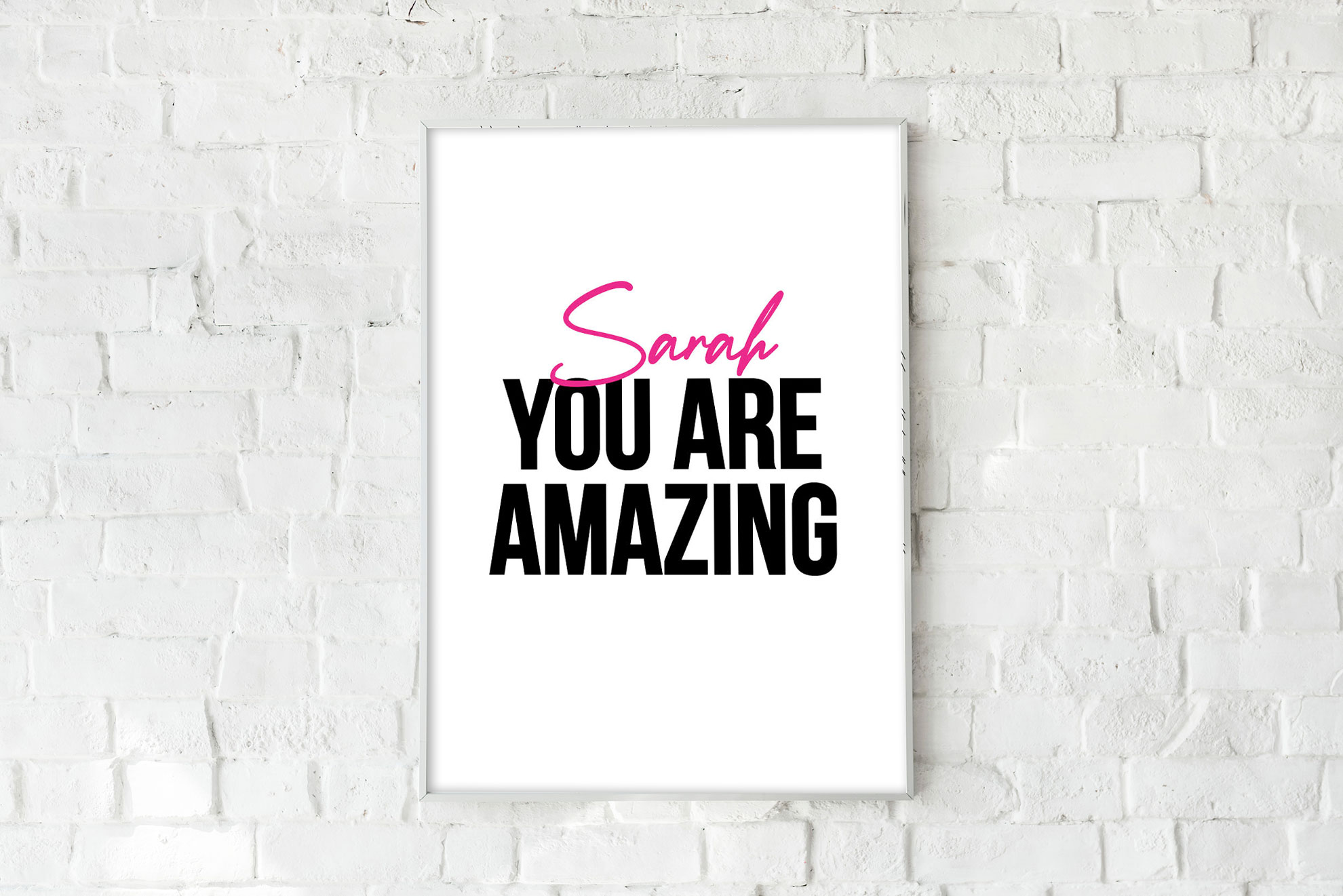 You Are Amazing - Pink